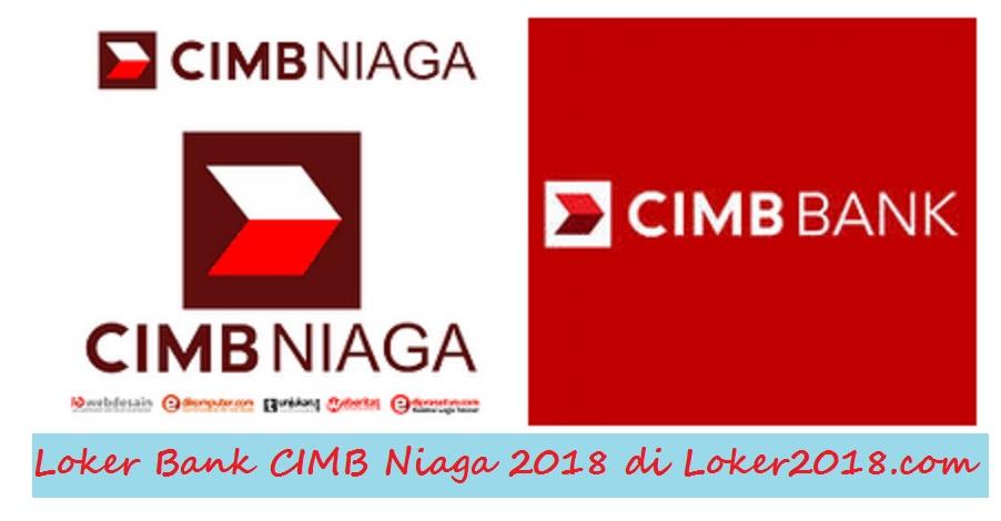 Loker Bank CIMB Niaga 2018