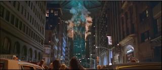 Empire State Building destrozado por los aliens