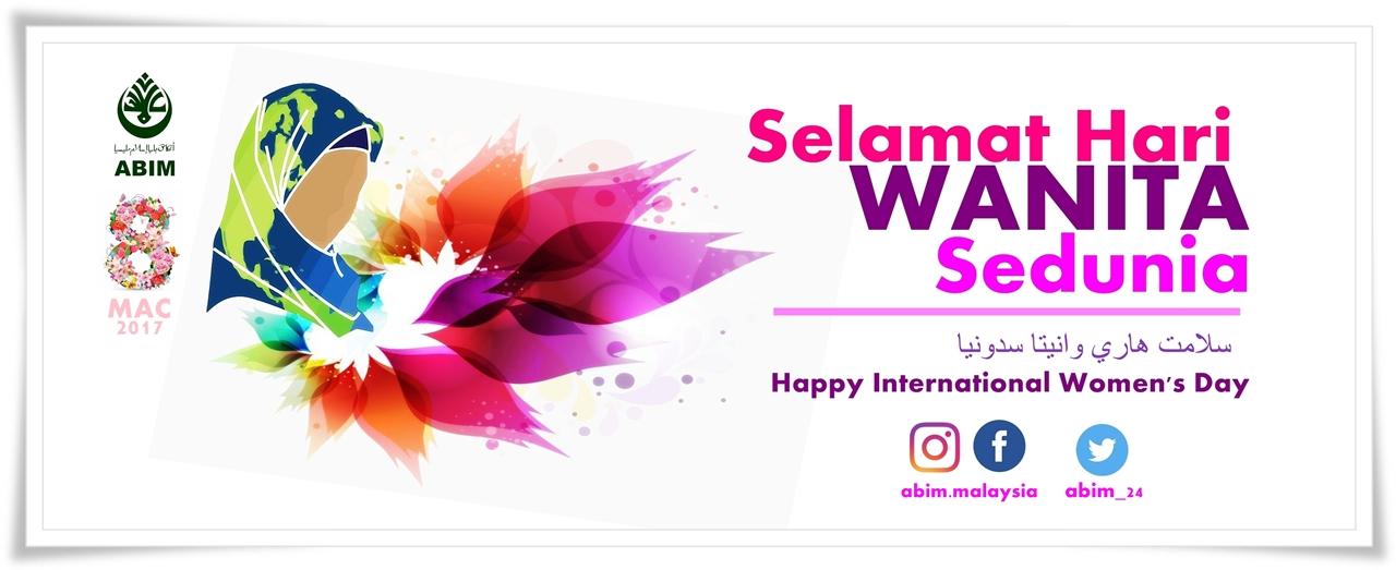 Internationalwomenday Beboldforchange Beraniberubah Helwa Abim  Mac Abim Ucap Selamat Hari Wanita Sedunia