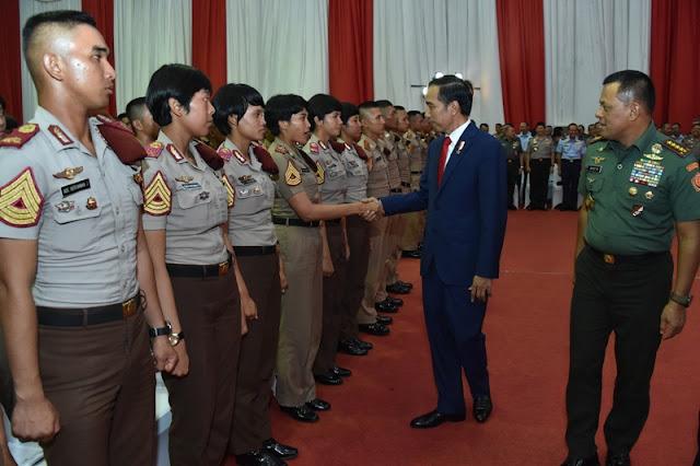 Presiden RI Berikan Pembekalan Kepada 729 Capaja TNI-Polri