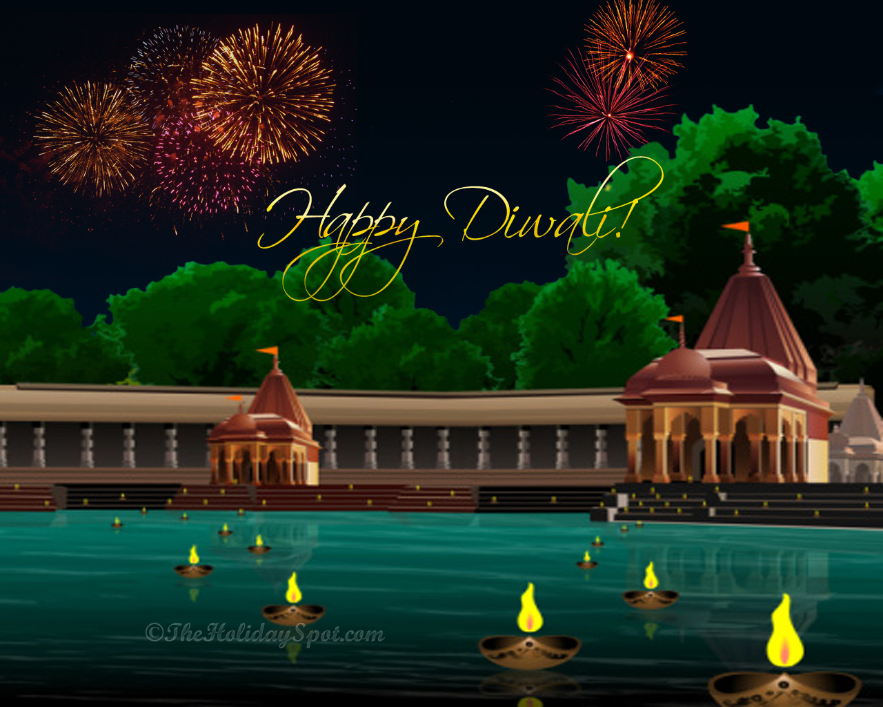 Animated Diwali Diya Wallpapers Religious Wallpapers God Is One