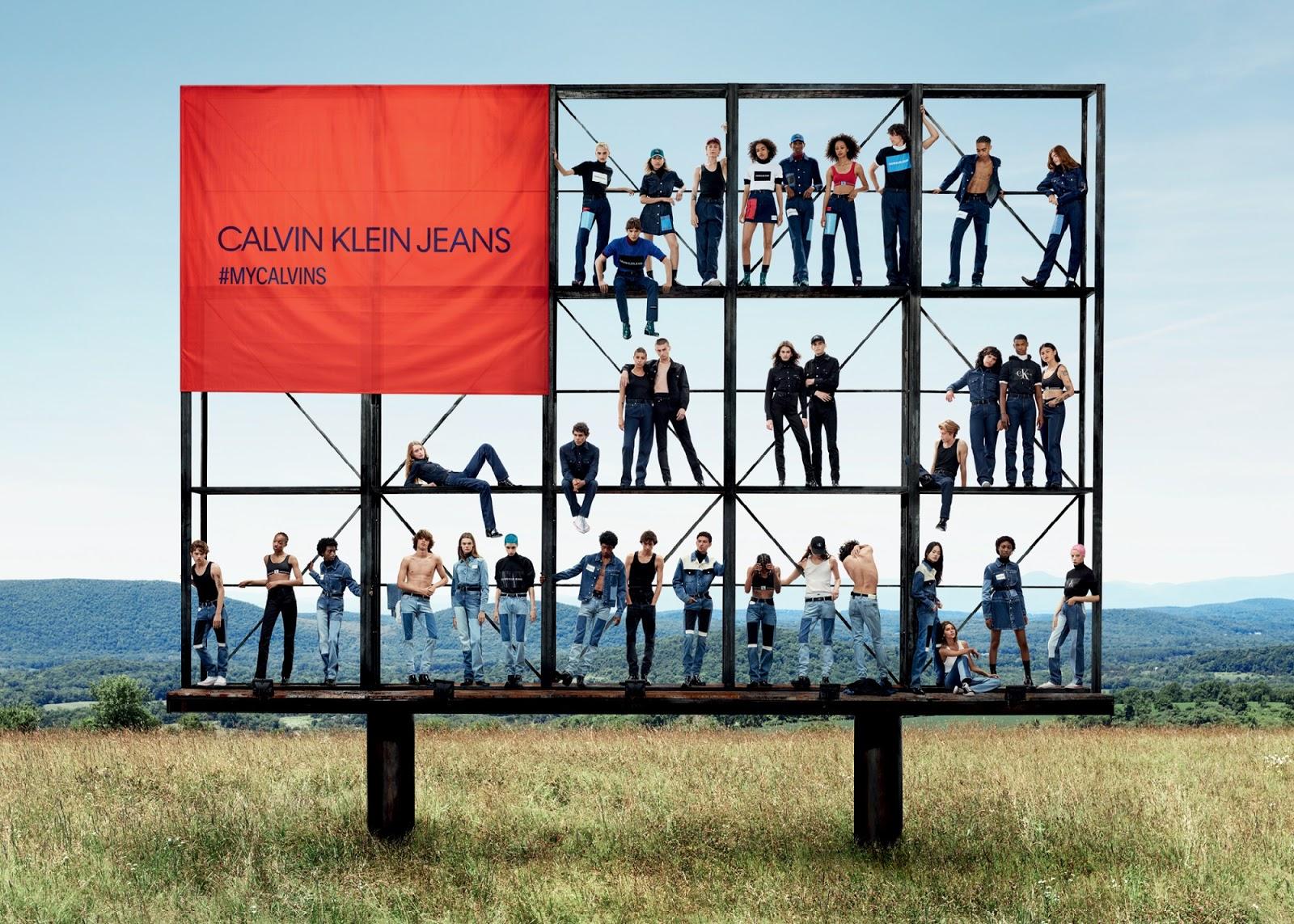 Calvin Klein Jeans apresenta sua nova campanha de Verão 18-19 d3def3619f