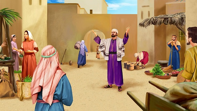 東方閃電|全能神教會圖片|文士和法利赛人故意在人容易看的见的地方假意作很长的祷告