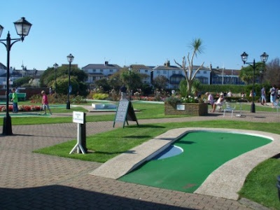 The Arnold Palmer Putting Course in Bognor Regis