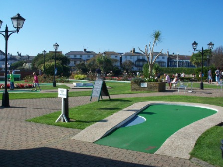 The Arnold Palmer Putting Course in Bognor Regis