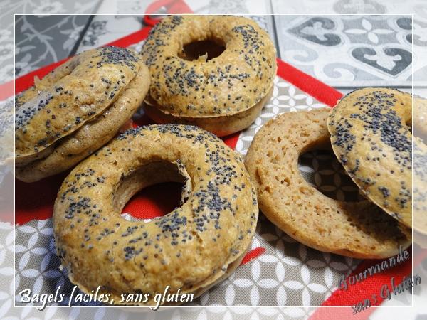Bagels faciles, sans gluten