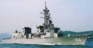 JS Samidare DD-106