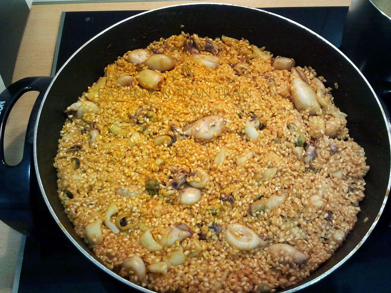 Arroz marinero: Facil y barato.