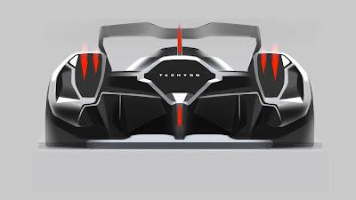 Tampak Belakang RAESR Tachyon Speed Concept