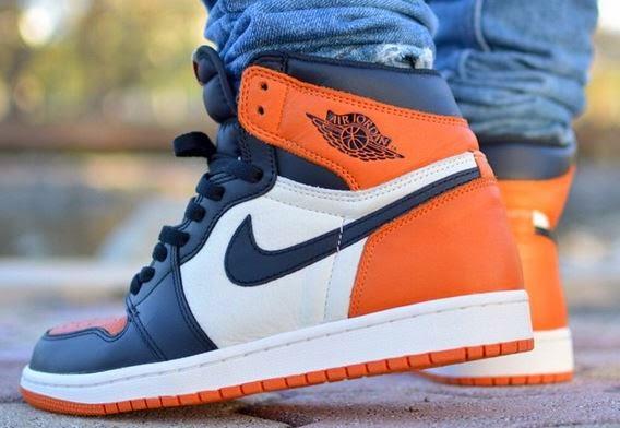 on sale cd3f3 8f0c9 Air Jordan 1  Shattered Backboard  Sneaker (Release Date Info + On Foot  Look)