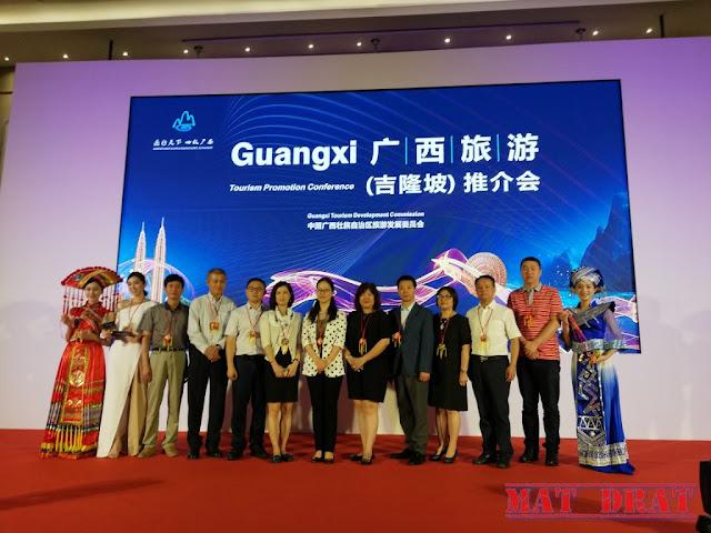 Guangxi Guilin China Percutian Tempat Menarik