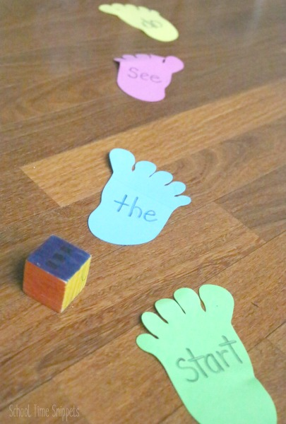 Fun Sight Word Reading Game
