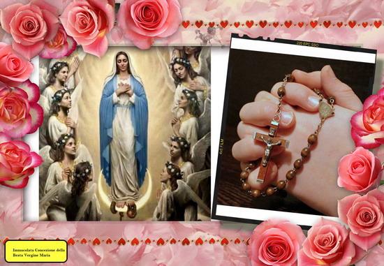 Santo Rosario continuo, di 24 ore, l'8 dicembre, Solennità dell'Immacolata Concezione di Maria