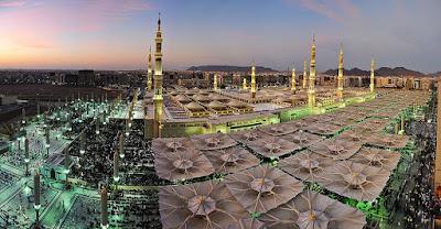 angle of masjid nabawi