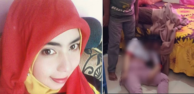 Cemburu! Guru PNS Cantik Dibunuh Suami Brondong Tengah Malam
