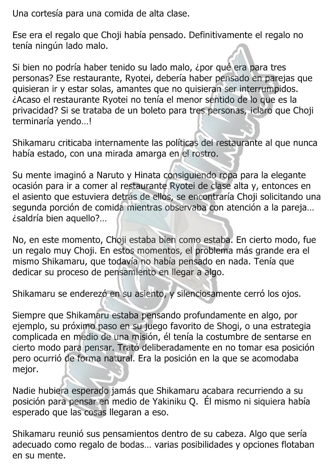 Konoha Hiden Capitulo 3 | Manganimax