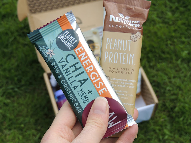 Raw vegan protein bar, peanut protein bar, chia vanilla, hemp protein, pea protein