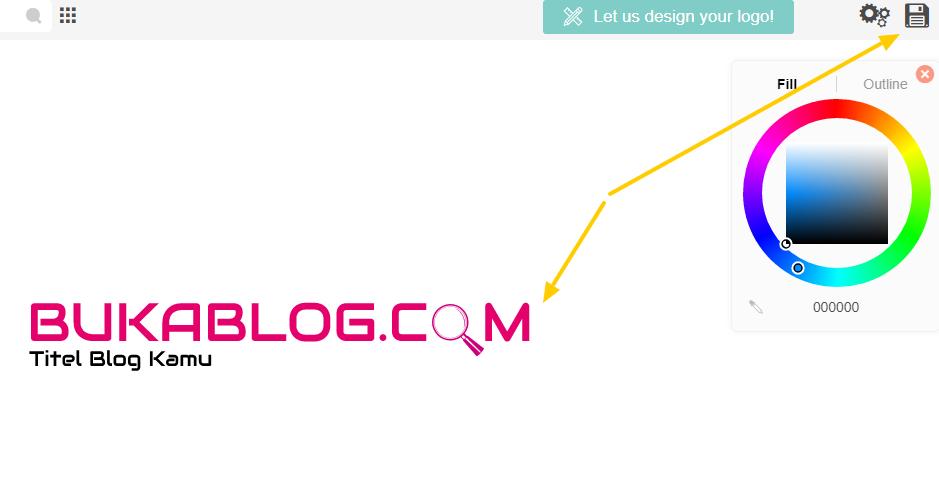 Cara Membuat LOGO BLOG/WEBSITE Secara Online GRATIS