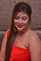 Payal Ghosh Looks Stunning in Red Half Shoulder Gown 032.JPG