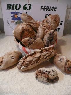 Les produits de Didier et Maria Cohendy sont tous faits avec les céréales qu'ils cultivent.