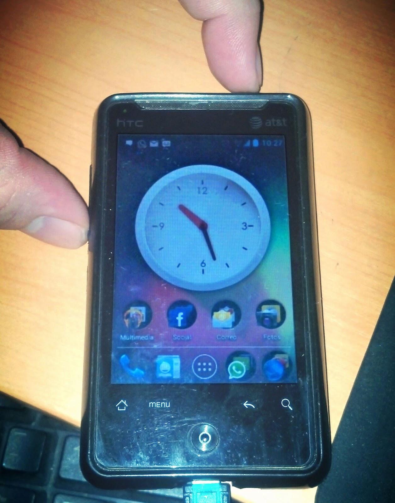 ba6e9be6ecd Capturar Pantalla En HTC, Samsung, LG, Motorola, o Cualquier Equipo Con  Android 4