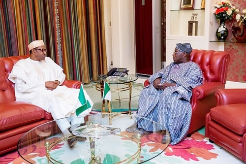 Revealed: Details of Obasanjo's Visit to President Buhari at Aso Rock Villa