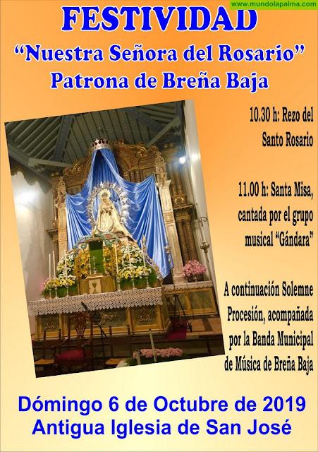 """BREÑA BAJA: celebración de """"Ntra. Sra. del Rosario"""""""