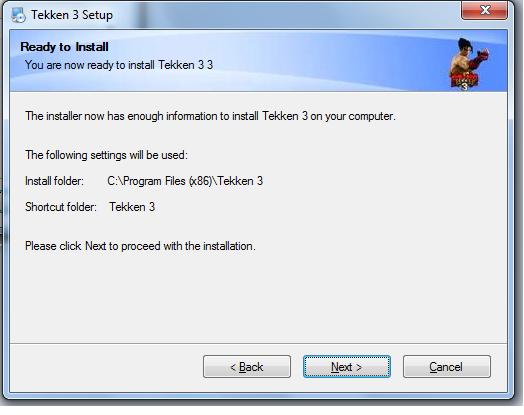 free  tekken 3 setup.exe for pc
