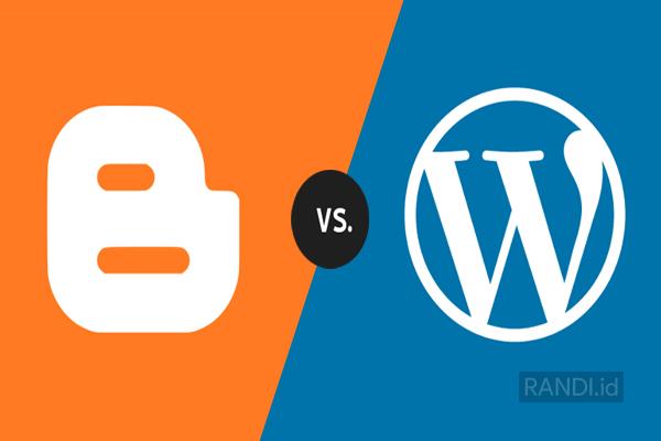 Perbedaan Blogger dan Wordpress - Kamu Perlu Tahu