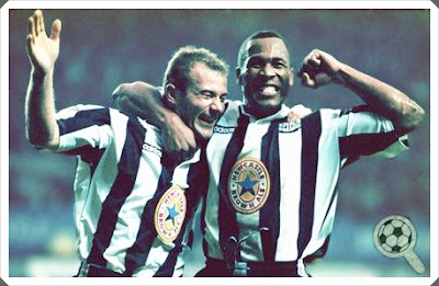 Les Ferdinand Alan Shearer Newcastle