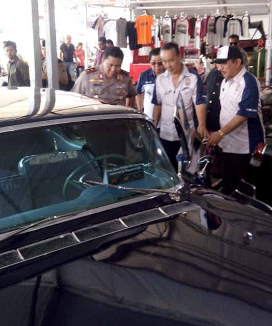 Mobil Kuno Presiden Pertama Bung Karno Meriahkan Bali Classic Motor Show 2017