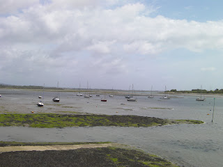northney marina from hayling bridge