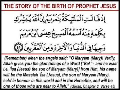 The Story of the birth of prophet jesus - berbagaireviews.com