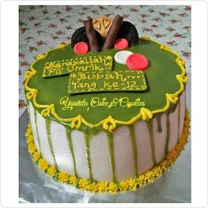 Kue Ultah Cantik Green Tea Chocolatte