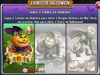 Ganhe o Dragão Abóbora do Mal - Torneio!