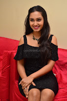 South Actress Amulya in short black dress at Kalamandir Foundation 7th anniversary Celebrations ~  Actress Galleries 055.JPG
