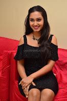 South Actress Amulya in short black dress at Kalamandir Foundation 7th anniversary Celebrations ~  Actress Galleries 055.JPG