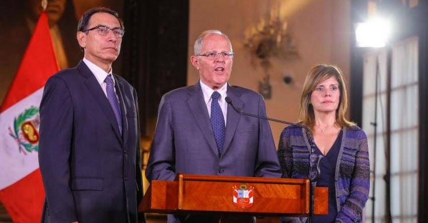 RESULTADOS VACANCIA PRESIDENCIAL: PPK se mantiene como presidente de la República