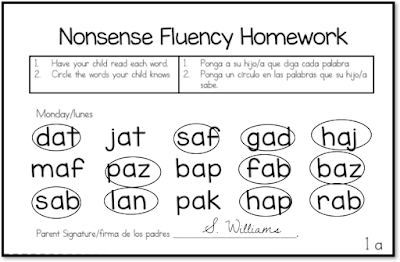 Nonsense Word Fluency: Increase your Dibels scores