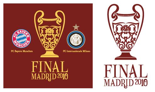 Update Champions League Madrid 2010 Trophy logo - Timix Patch