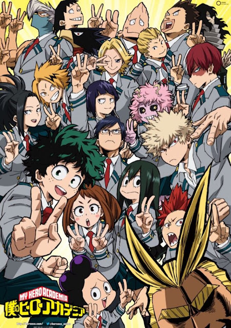 Poster Boku no Hero Academia