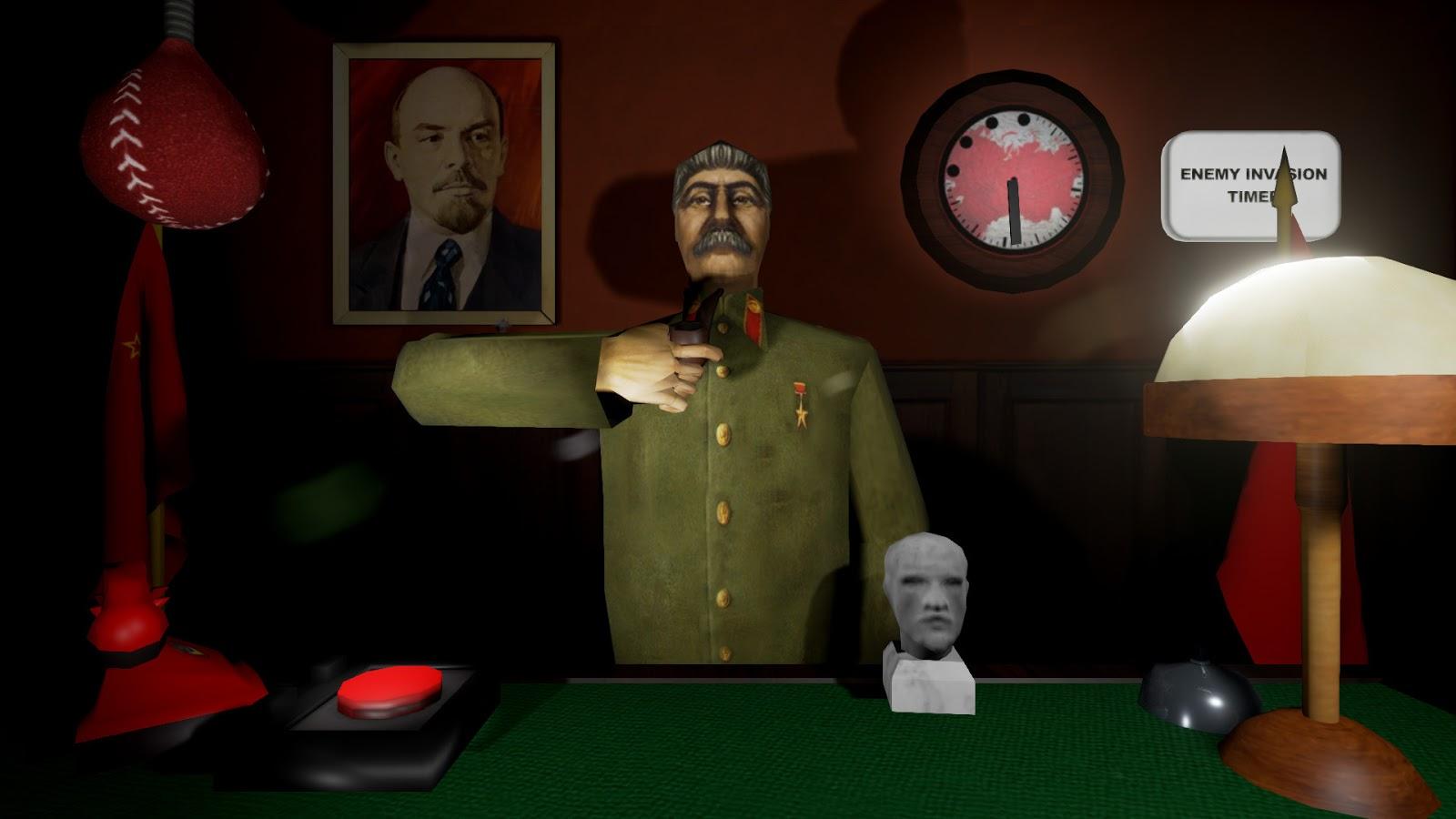 calm down stalin game