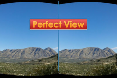 Cara Nonton Video Virtual Reality VR di Cardboard