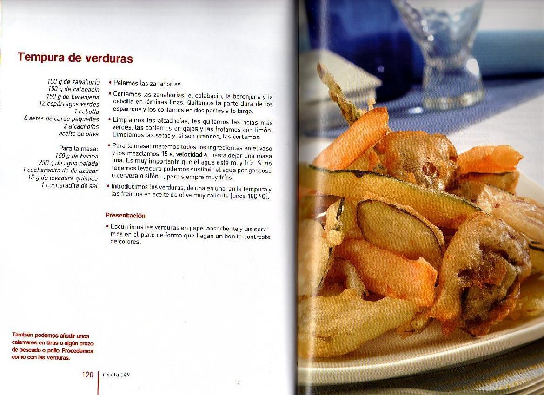Archivo De Recetas Thermomix Tempura De Verduras