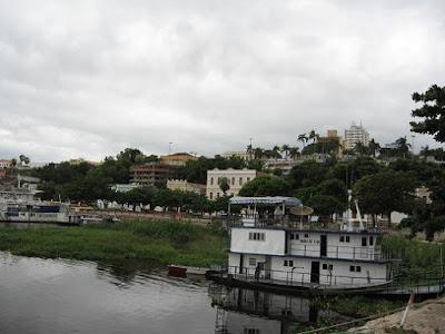 Foto com vista do Rio Paraguai. A história da retomada de Corumbá.