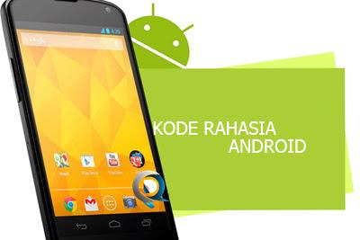 Kode Belakang Layar Pada Smartphone Android
