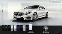 Mercedes S500 4MATIC Coupe 2017 màu Trắng Diamond 799