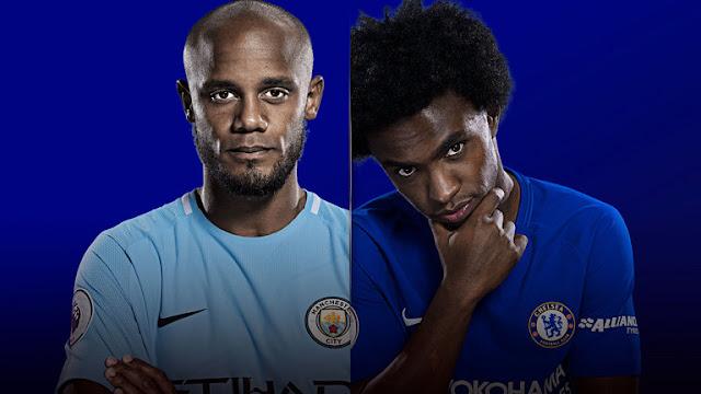 Prediksi Manchester City vs Chelsea, 4 Maret 2018