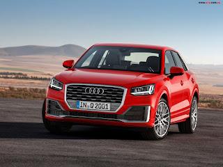 Audi Q2 2017.