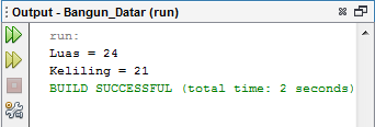 Menghitung Rumus Trapesium Dengan Java